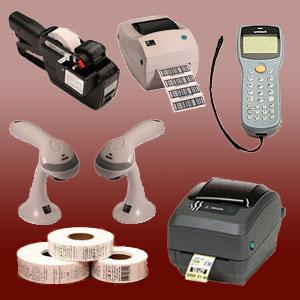 Computación. Etiquetas, etiquetadoras, impresoras y lectores