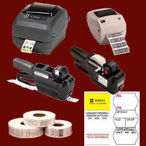 Laboratorios. Etiquetas, etiquetadoras, impresoras y lectores