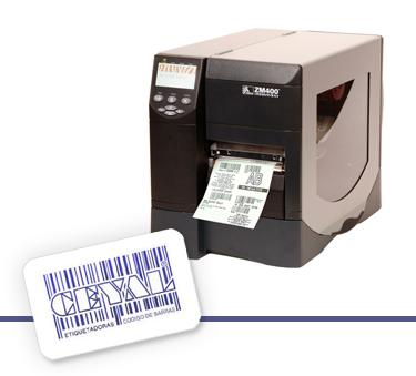 Impresora de etiquetas industrial ZM400