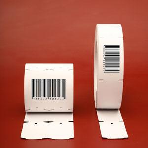 Etiquetas de Cartón Impresas con Códigos de Barras