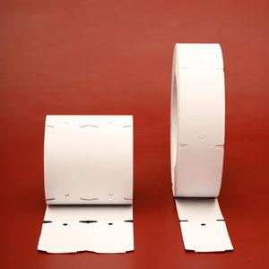 Etiquetas de Cartón en Blanco