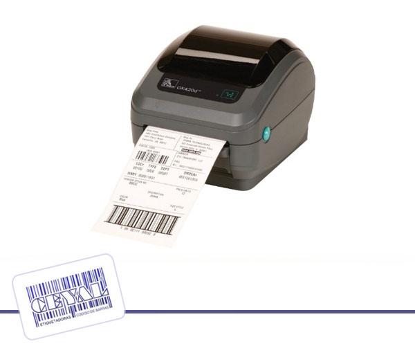 impresora de escritorio zebra GK420t