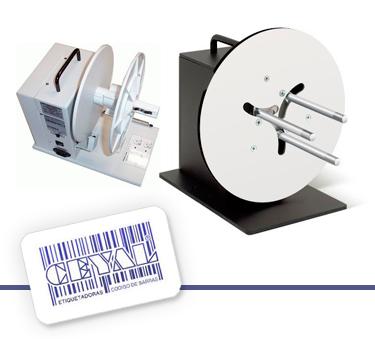 Rebobinador Industrial de Etiquetas Externo