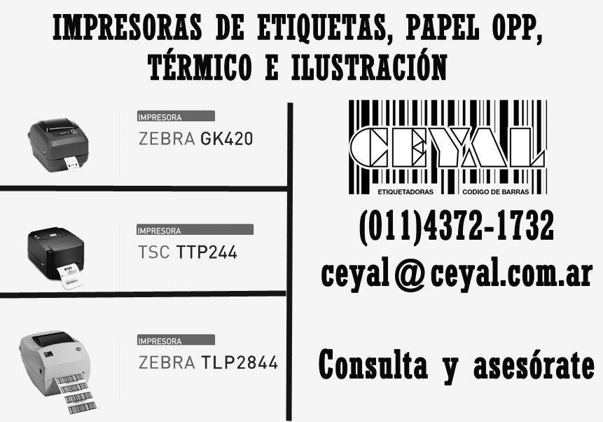 VENDEMOS ETIQUETAS DE POLIAMIDA EN ROLLO GC420 T