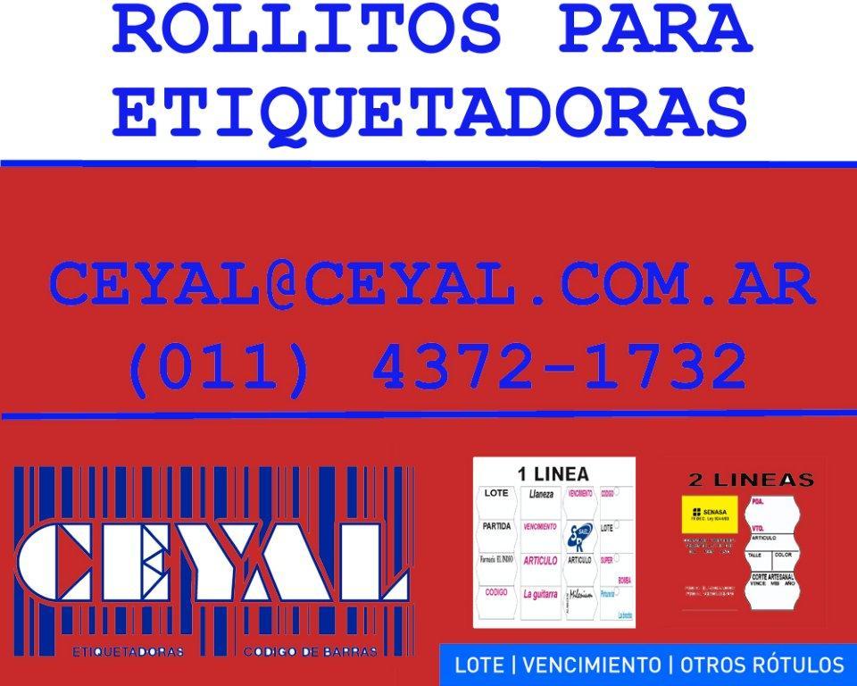 RIBBON PARA IMPRIMIR ETIQUETAS EN TODOS LOS MODELOS DATAMAX (011) 4372 – 1732