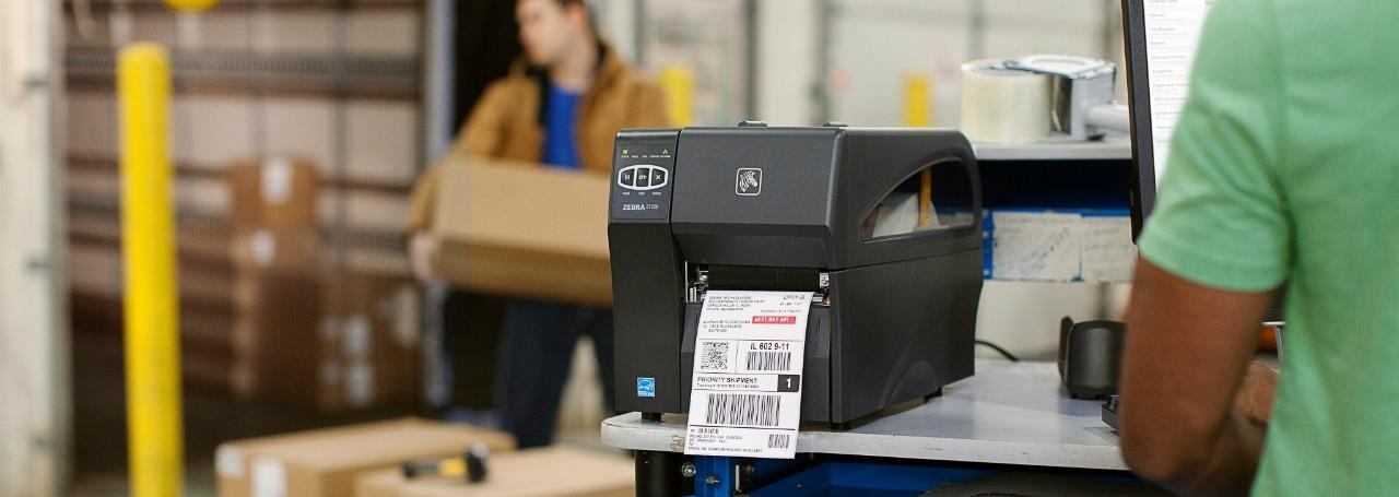 Banner Impresora industrial Zebra ZT230