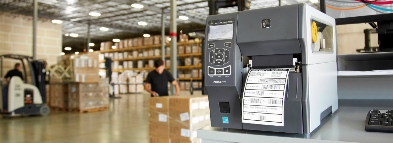 Impresora industrial Zebra ZT410