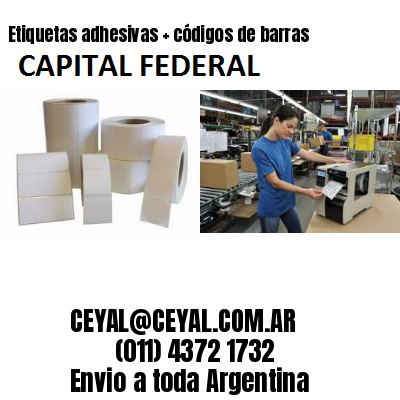 rollo etiquetas autoadhesivas Capital Federal