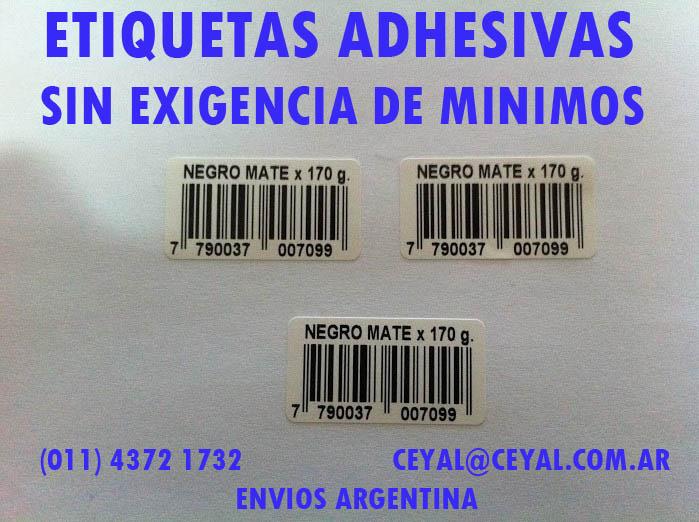 etiquetado argentina