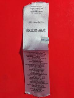 Etiquetas de poliamida impresa