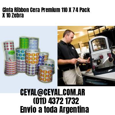 ribbon cera 110x74 impresora zebra argentina