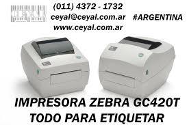 como imprimir etiquetas en impresora zebra gc420t