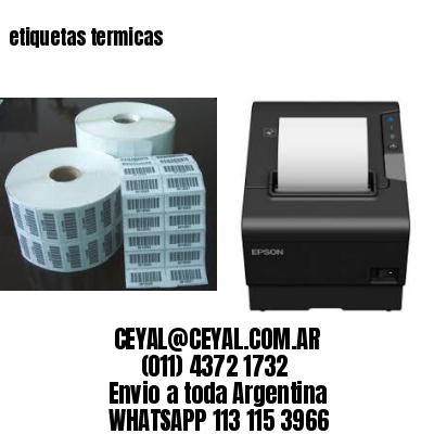 Rollo Papel Termico Etiquetas - Industrias y Oficinas