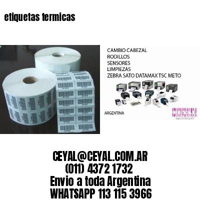 etiqueta termica x 1000 - argentina