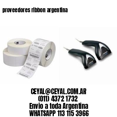 proveedores ribbons