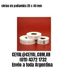 Mil Etiquetas Tela Coser Textil Poliamida Marca Talle