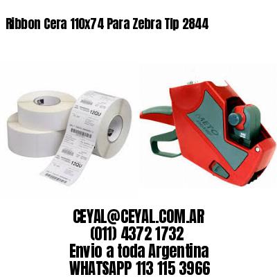 Ribbon Cera 110x74 Para Zebra Tlp 2844