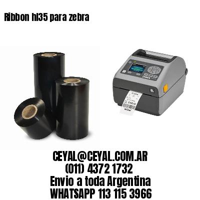 Ribbon hl35 para zebra