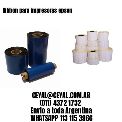 Ribbon para impresoras epson