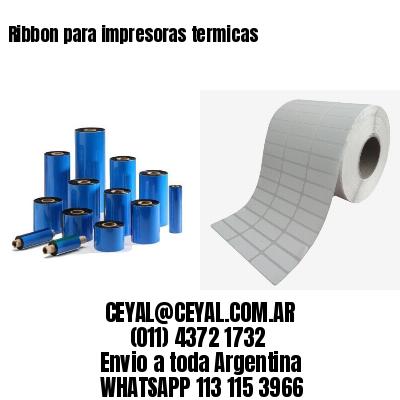 Ribbon para impresoras termicas