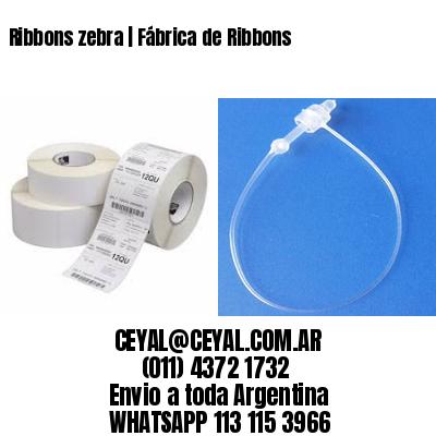 Ribbons zebra   Fábrica de Ribbons