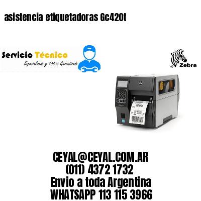asistencia etiquetadoras Gc420t