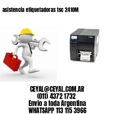 asistencia etiquetadoras tsc 2410M