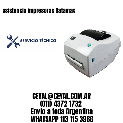asistencia impresoras Datamax