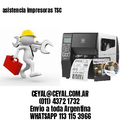 asistencia impresoras TSC