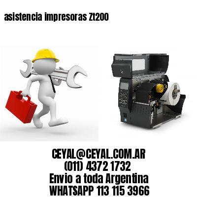 asistencia impresoras Zt200