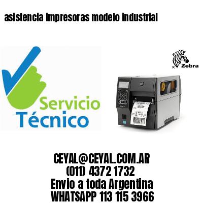 asistencia impresoras modelo industrial