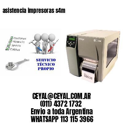 asistencia impresoras s4m