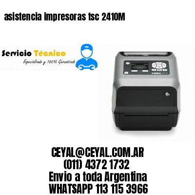 asistencia impresoras tsc 2410M