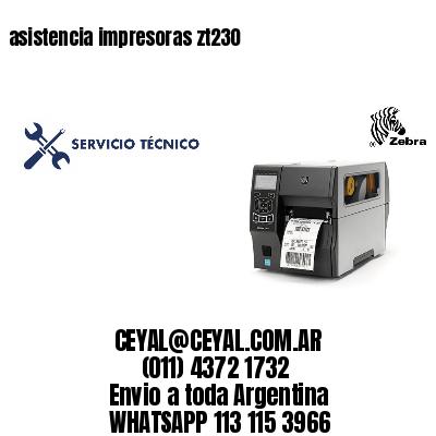 asistencia impresoras zt230