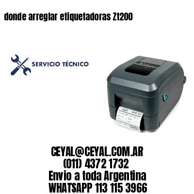 donde arreglar etiquetadoras Zt200