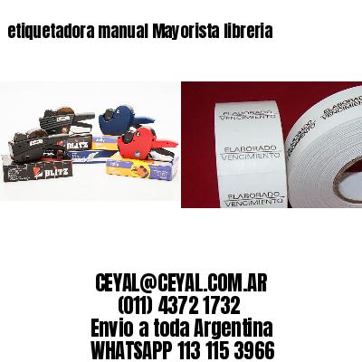 etiquetadora manual Mayorista libreria