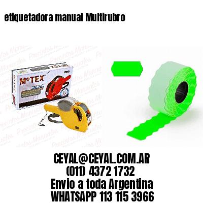 etiquetadora manual Multirubro