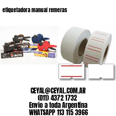 etiquetadora manual remeras