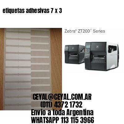 etiquetas adhesivas 7 x 3