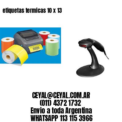 etiquetas termicas 10 x 13