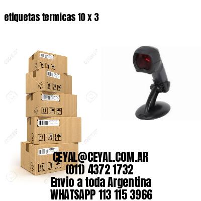 etiquetas termicas 10 x 3