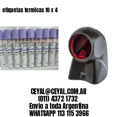 etiquetas termicas 10 x 4