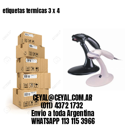 etiquetas termicas 3 x 4