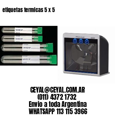 etiquetas termicas 5 x 5