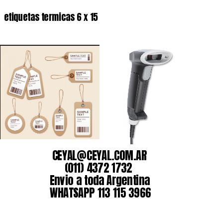 etiquetas termicas 6 x 15