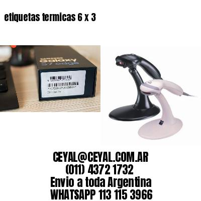etiquetas termicas 6 x 3