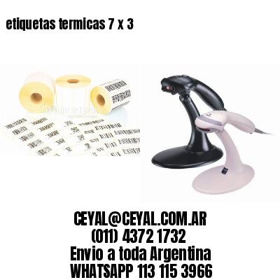 etiquetas termicas 7 x 3