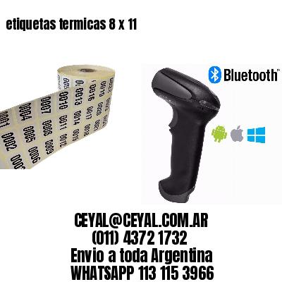 etiquetas termicas 8 x 11