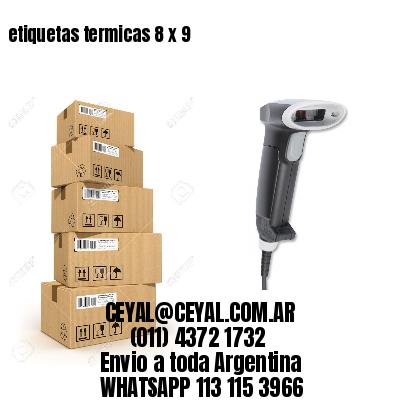 etiquetas termicas 8 x 9
