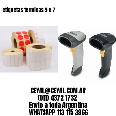etiquetas termicas 9 x 7